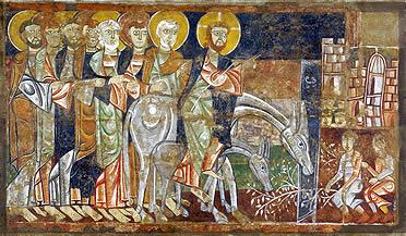 Entrada Triunfal de Jesús en Jerusalén  (Indianapolis Museum of Art)