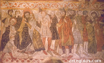 Pinturas de San Justo. Segovia