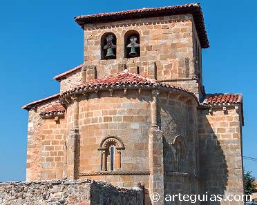 Cabecera de la iglesia de Tabliega. Burgos