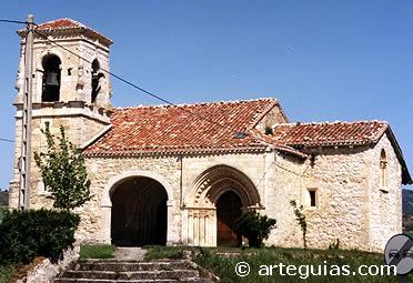 Iglesia de Uzquiano. Condado de Treviño