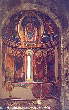 Pinturas románicas. Santa María de Taüll