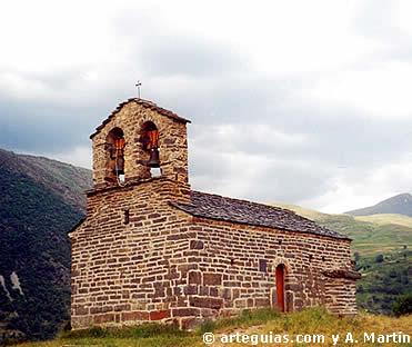 Ermita de Sant Quirze de Durro. Vall de Boí