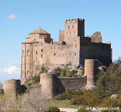 Castillo de Loarre, uno de los monumentos estelares de la Hoya de Huesca