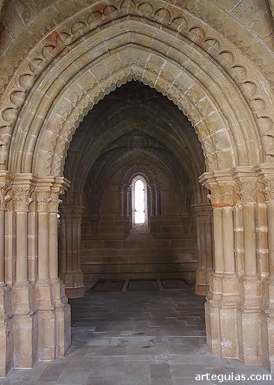 Puerta de acceso de la sala capitular