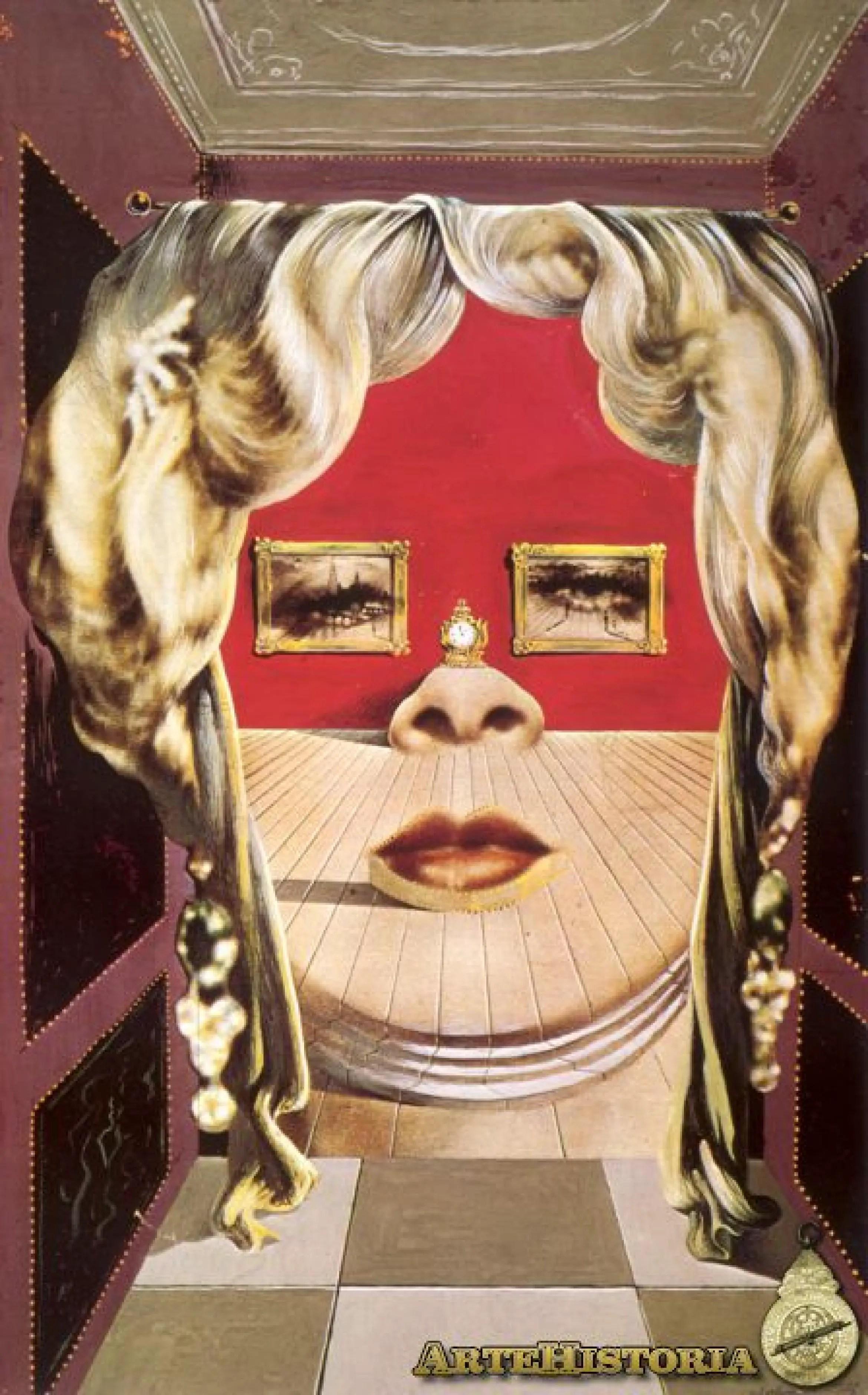 Rostro De Mae West Utilizable Como Apartamento