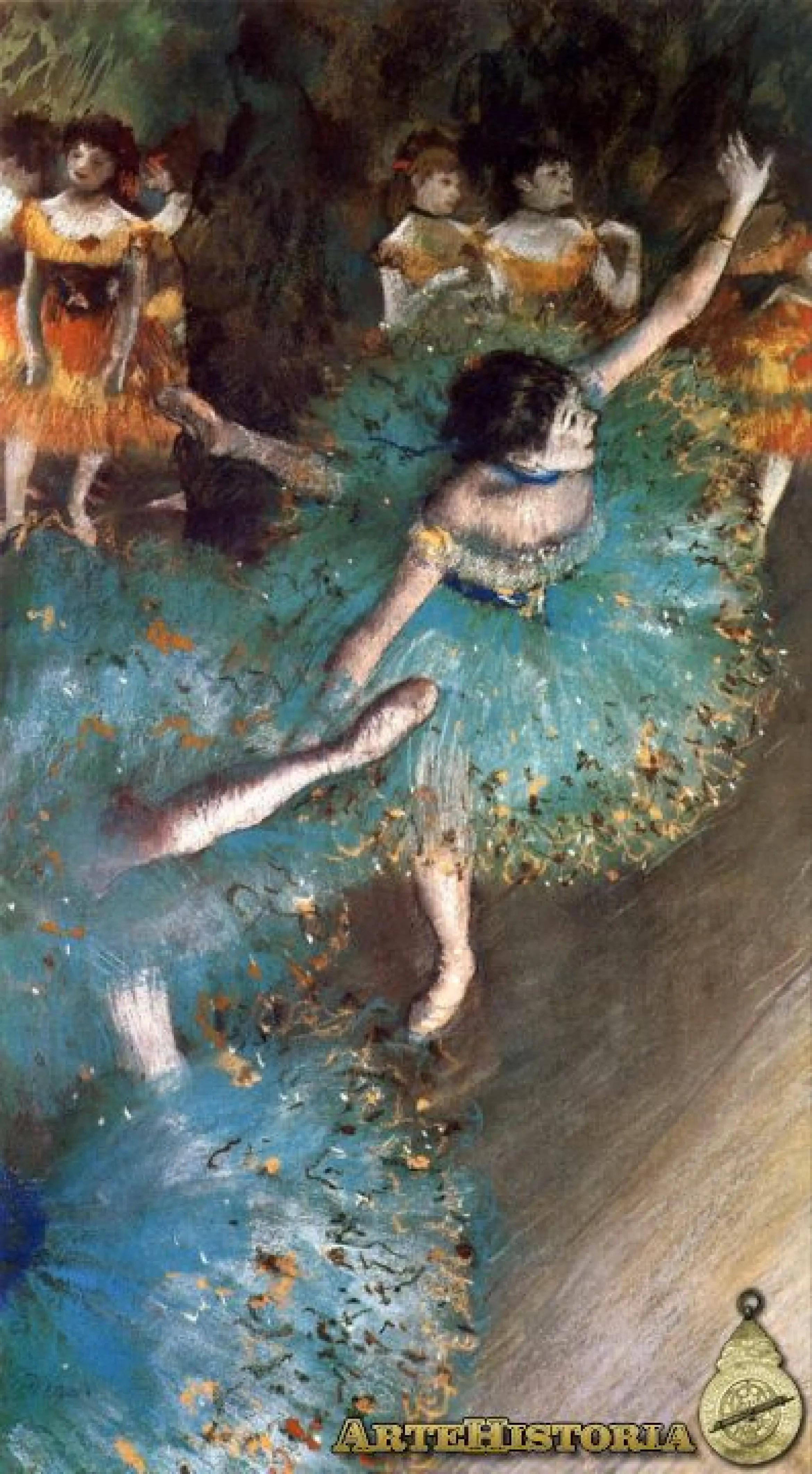 Bailarinas En El Escenario Artehistoria Com