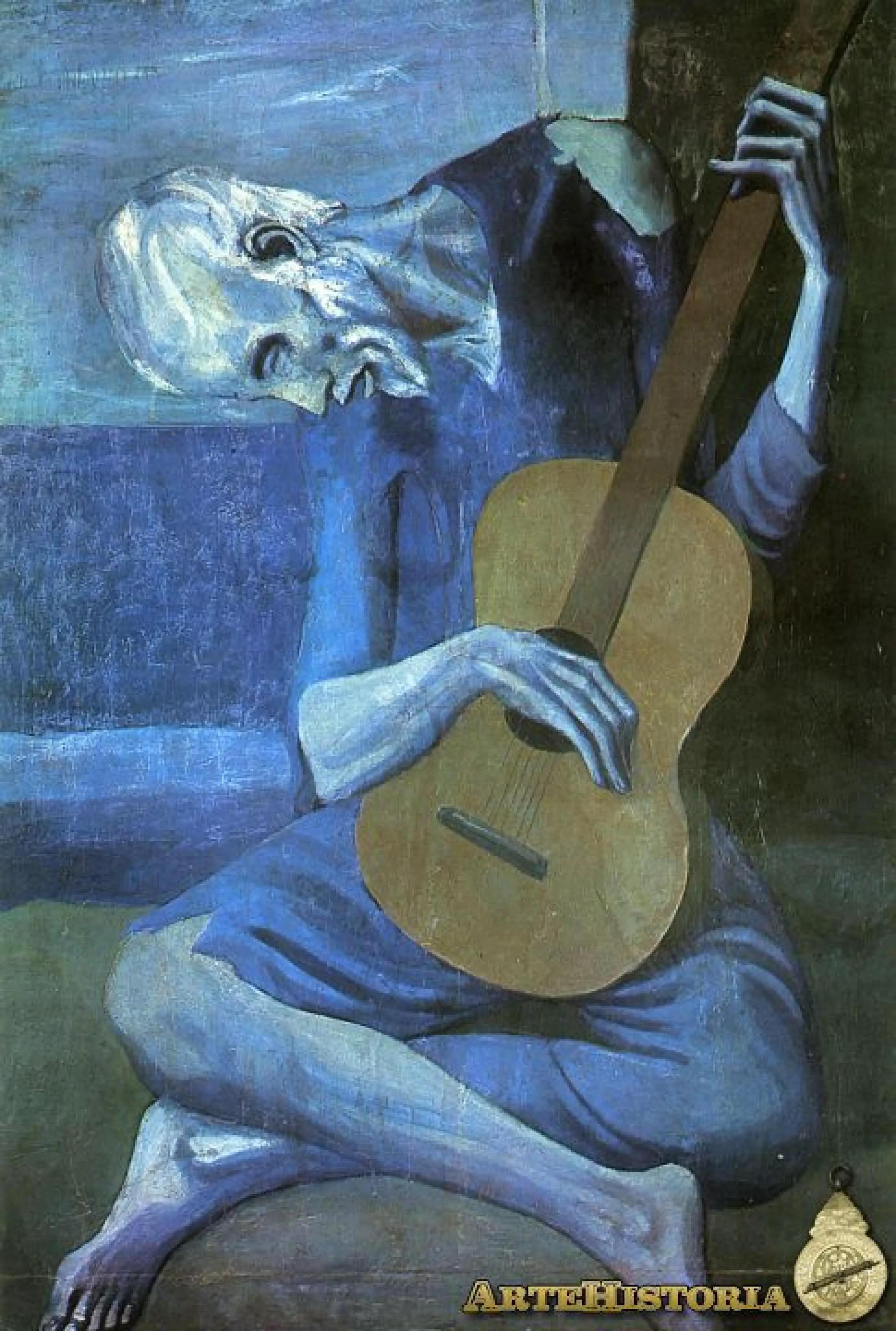 Guitarrista ciego  artehistoriacom