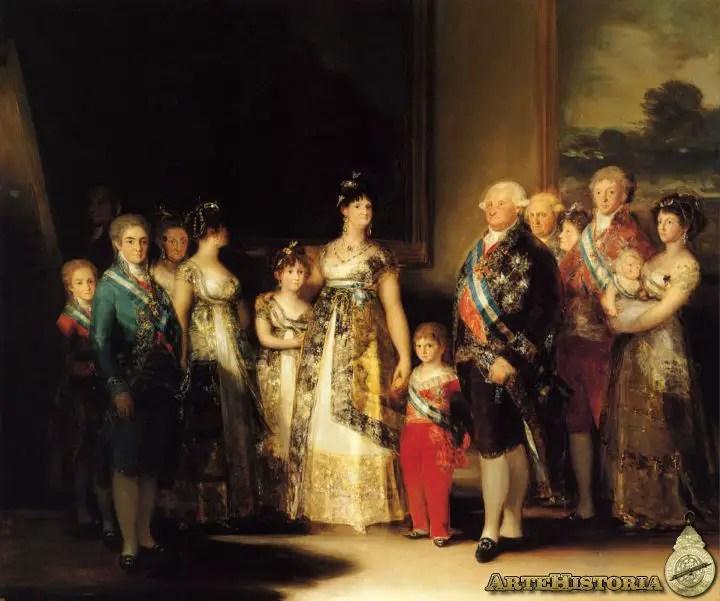 Resultado de imagen de familia de carlos iv de goya