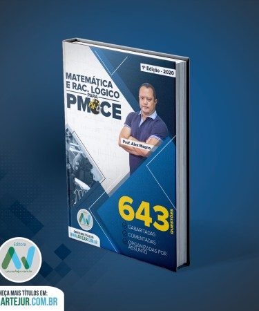 Apostila 643 Questões Matemática e Rac.Lógico Para PMCE – Alex Magno