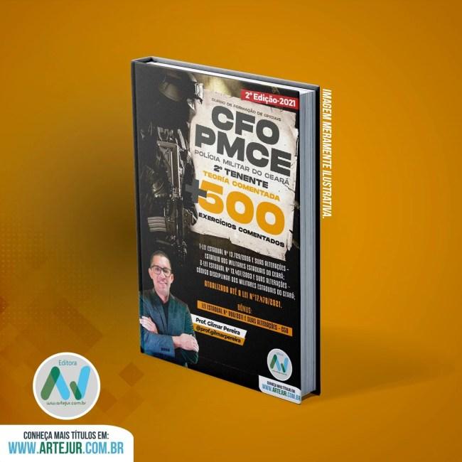 Legislação da PMCE – CFO – 2ª Edição – 2021 – Prof. Gilmar Pereira