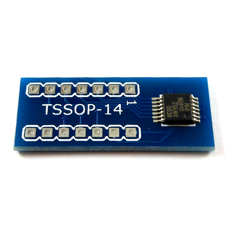 TSSOP14 to DIP Adapter  Pack of 2  Artekit