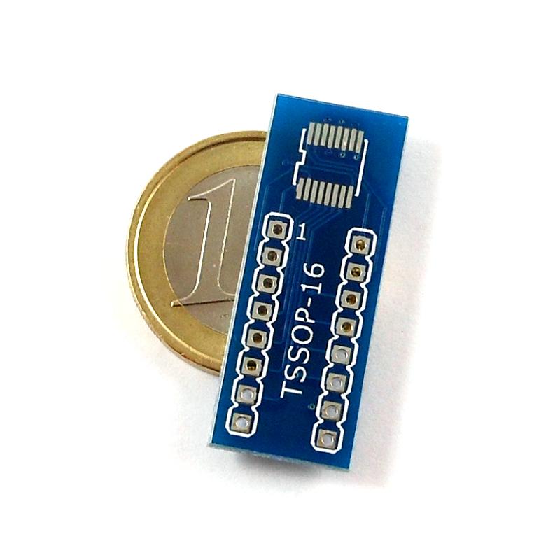 TSSOP16 to DIP Adapter  Pack of 2  Artekit