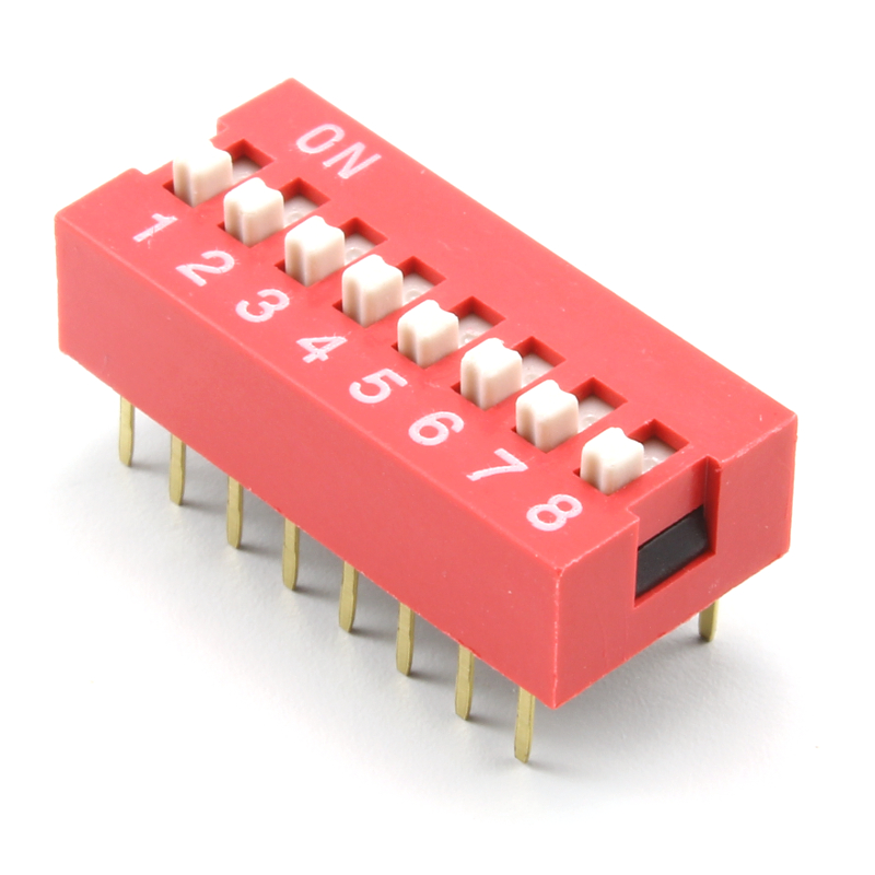Dip Switch 8 Position Artekit
