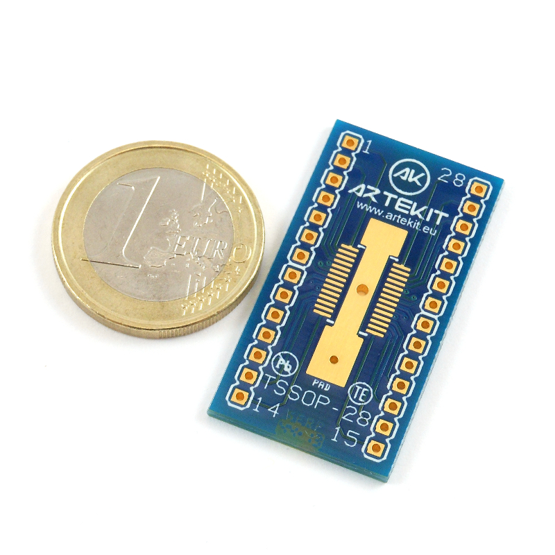 TSSOP28 to DIP Adapter  Pack of 2  Artekit