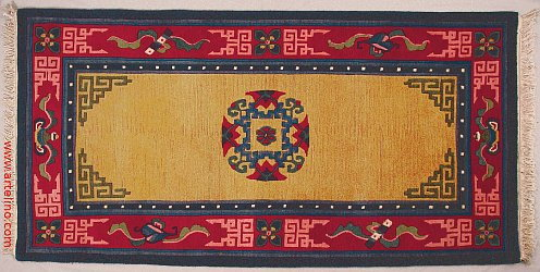 Designs of Traditional Tibetan Rugs  artelino