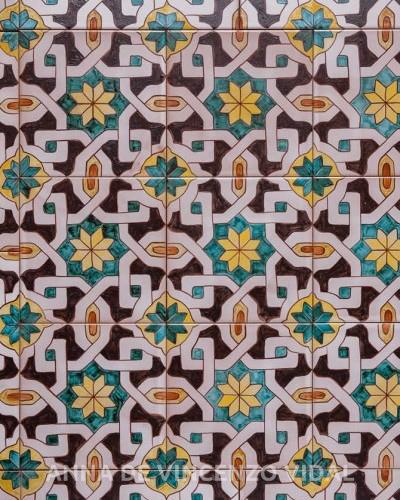 Piastrelle decorate per pavimenti  Portfolio categories  Antica Dimora dellArte  Anna De