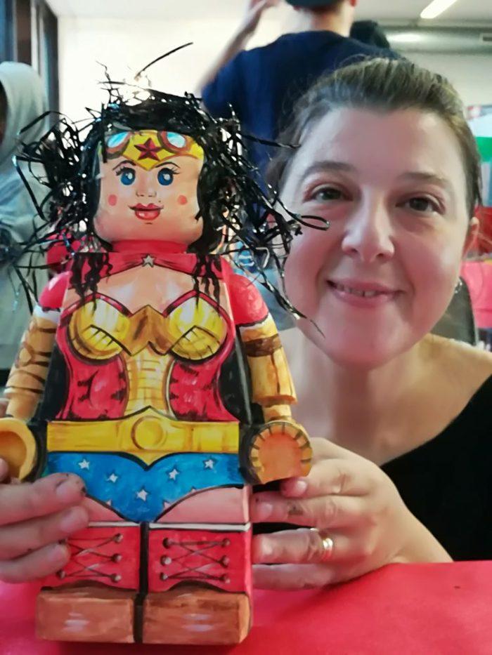 Eccola la mia Wonder Woman Steampunk!