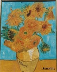""" Sunflower"" Van Gogh. Oil on canvas."