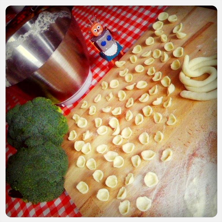 mastering the art of the orecchiette