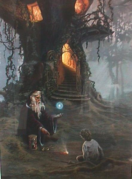 Merlins Oak  Hermon Adams  Art encounter