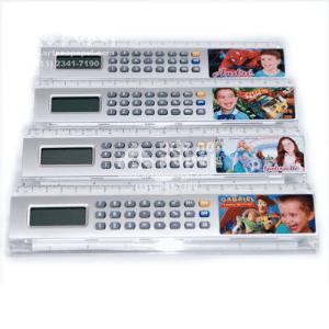 régua com calculadora arte no papel lembrancinhas personalizadas com foto