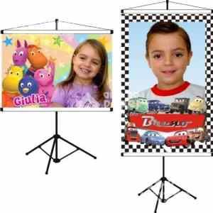 banners arte no papel lembrancinhas personalizadas com foto