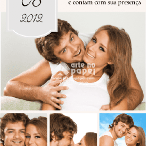 save the date grey arte no papel lembrancinhas personalizadas com foto