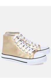 Cady metallic sneaker, χρυσό