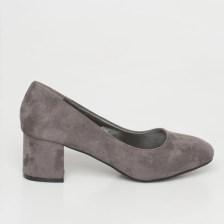 Alma pump shoe, γκρι