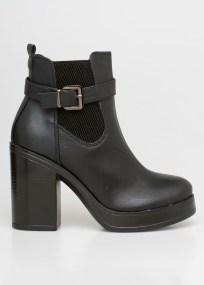 Pam chelsea boot, μαύρο