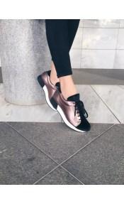 Sadie ponny sneaker, ατσαλί