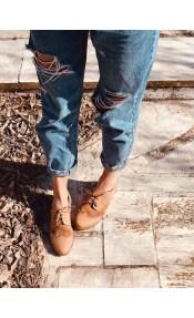 Βοο Oxford Shoe, Μπεζ