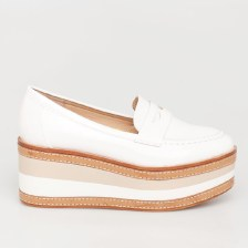 Nora flatform, λευκό
