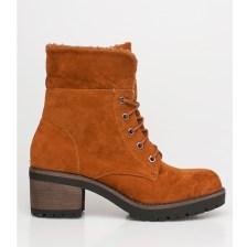 Dara ankle wool boot, καμηλό