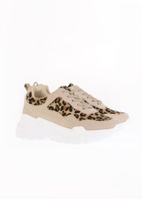 Alessio Suede Sneaker, Μπεζ