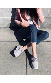 Brooke δερμάτινο sneaker, γκρι