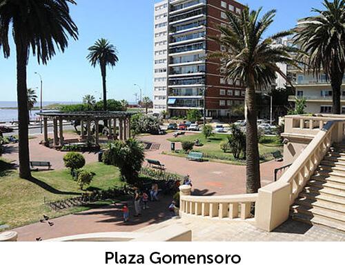Entorno Plaza Gomensoro