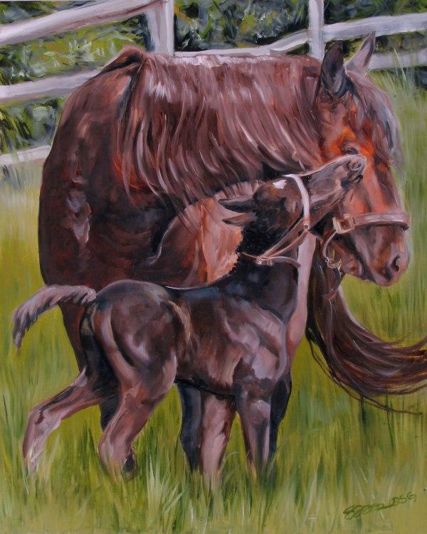 Paintings Art Equine