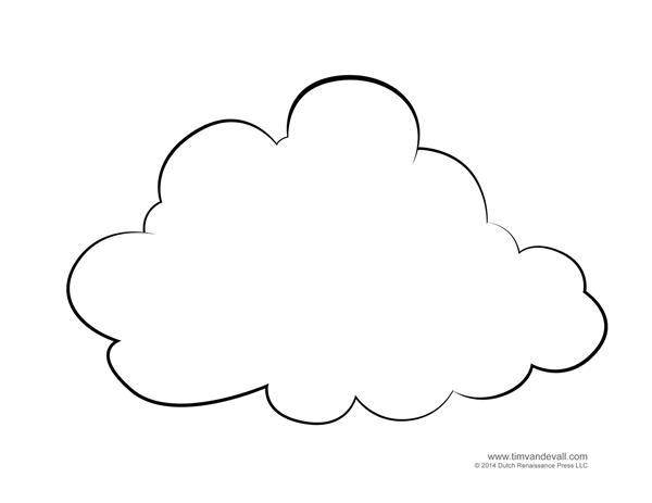 Molde De Nuvem 46 Modelos Para Imprimir Artesanato
