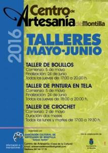 cartel TALLERES mayo junio 2016 - copia