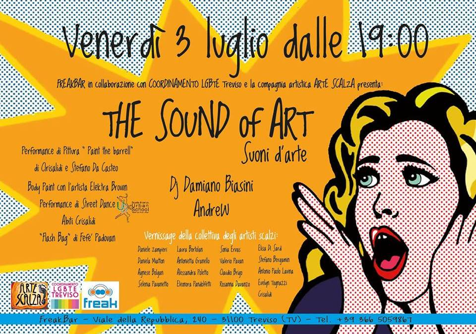 The sound of art, arte e musica al FreakBar
