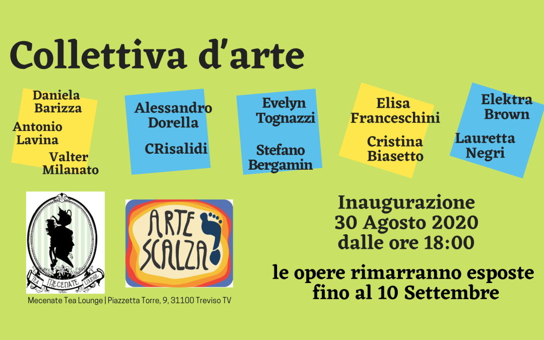 Collettiva d'Arte al Mecenate Tea Lounge