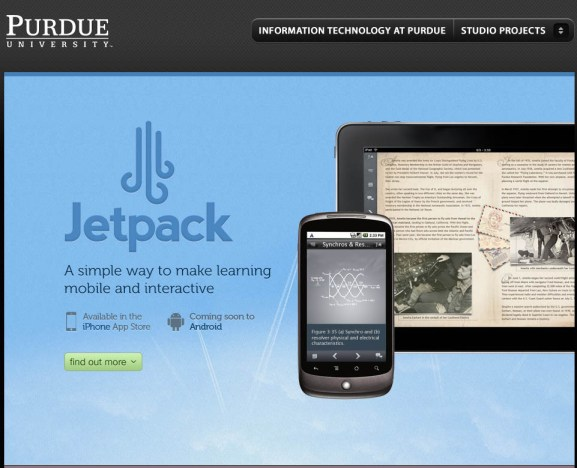 the website for jetpack