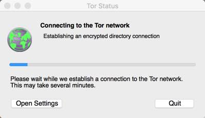 TOR network connections in Myanmar