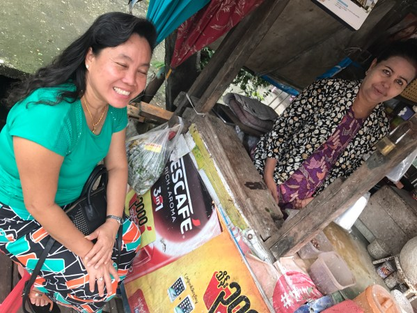 street vendors in yangon