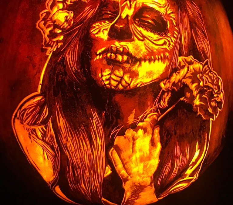 Creativity During the Pandemic: Pumpkin-Carving Beyond Jack O'Lanterns