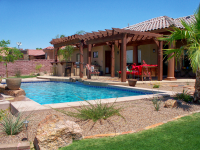 Arizona Backyard - Artesian Pools & Spas - Yuma, AZ