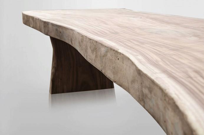 Table En Bois Table Contemporaine Grande Table En Bois