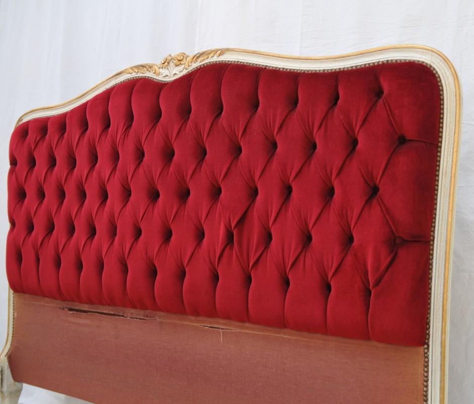 Lit et tete de lit capitonn vente unique meubles ancien et vintage ides dco maison