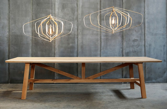 Oak Dining Table Atelier 300 Cm ARTESLONGA